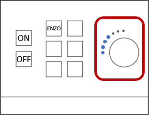 Check that your device is not muted.  Adjust the volume on your device and by using the knob on the wall-mounted control box.