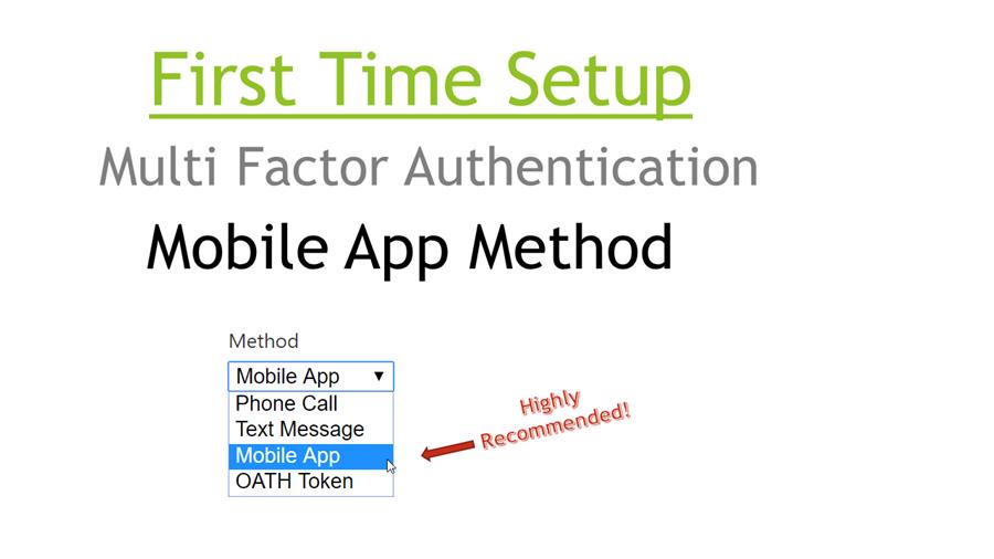Mobile App Method