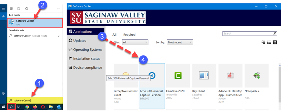 An image: Steps to install Universal Capture Personal on a University computer